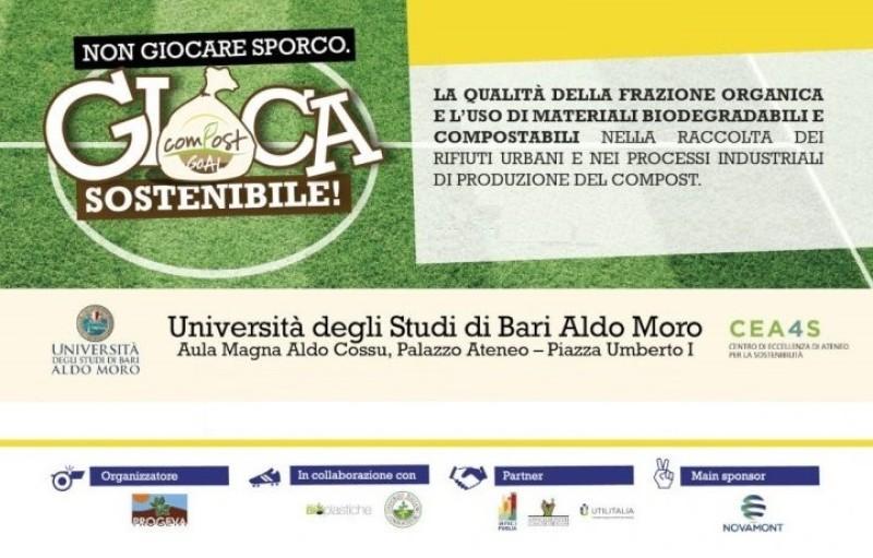 """Proclamati i vincitori di """"Compost Goal"""": progetto all'insegna di sostenibilità e legalità"""