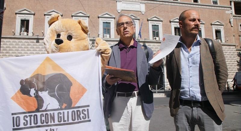 Delegazione LAV chiede la grazia per l'orso M49