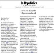 La rettifica della LAV pubblicata da La Repubblica (5 settembre 2019)