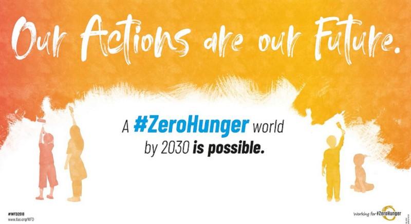 Giornata Mondiale dell'Alimentazione. #Famezero? Scelta vegan, la soluzione