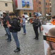 Il flashmob LAV al Pantheon