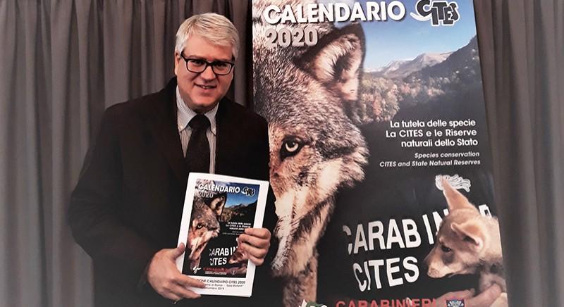 LAV alla presentazione del calendario CITES 2020