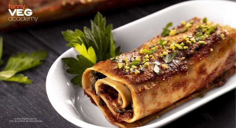 Roll di lasagne