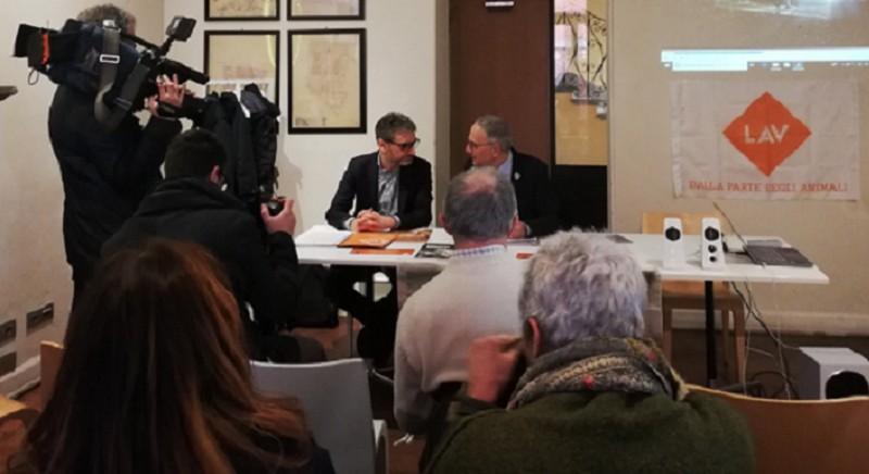 Conferenza stampa LAV a Parma