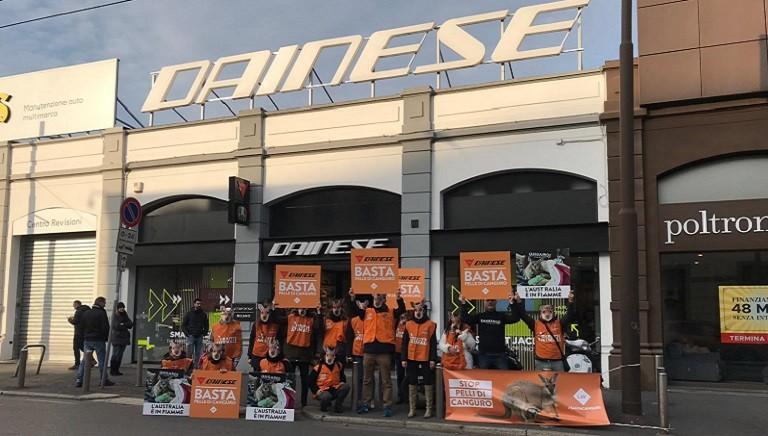 #SALVACANGURI: contro l'indifferenza di Dainese, i nostri sit-in in tante città