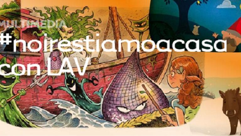 #NOIRESTIAMOACASA: multimediali LAV gratuiti per bambini e ragazzi