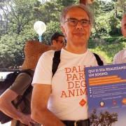 Il Presidente LAV Gianluca Felicetti e il Sindaco di Livorno, Luca Salvetti