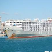 la nave affondata (foto F.YBANCOS)