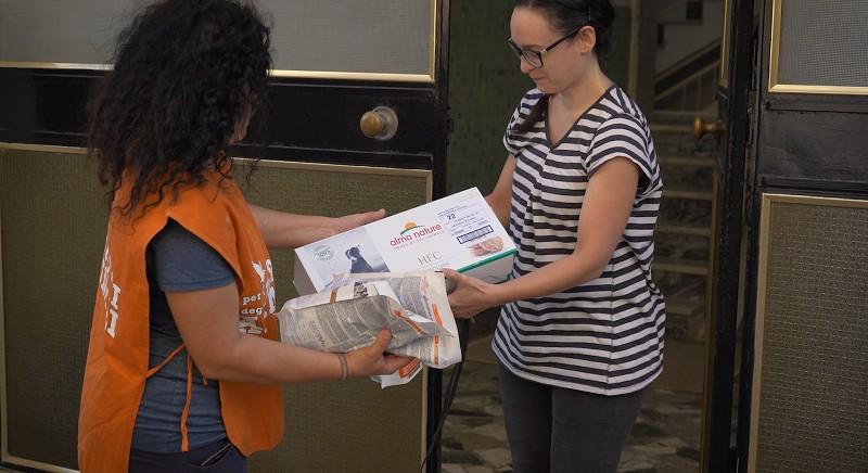 La collaborazione LAV - Fondazione Capellino a Bari