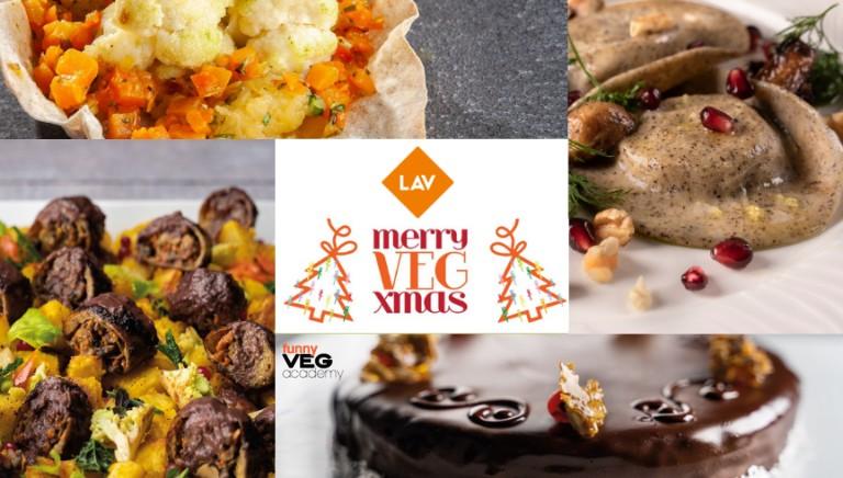 Merry VEG Xmas: le ricette di Natale firmate Funnyveg Academy per Lav