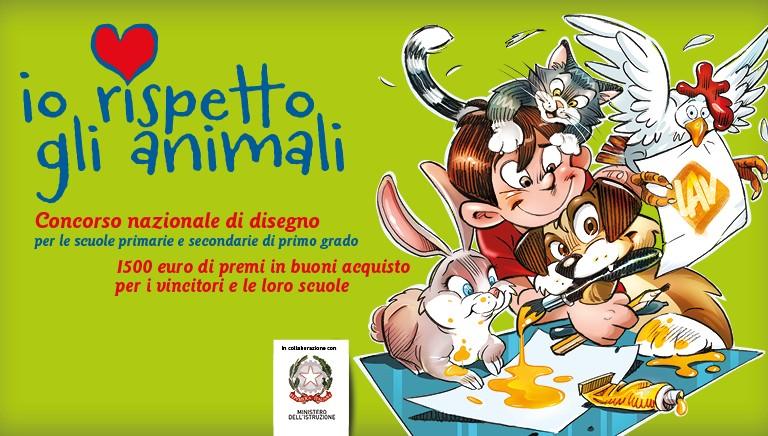 """""""Io rispetto gli animali"""": c'e' tempo fino al 31 marzo per partecipare al Concorso"""