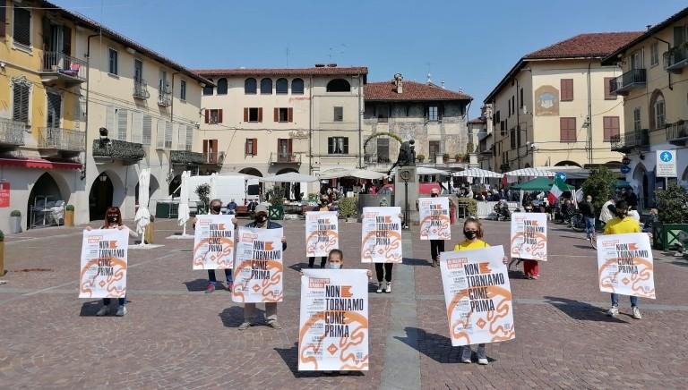 #NONCOMEPRIMA: flash-mob per una ricerca senza animali