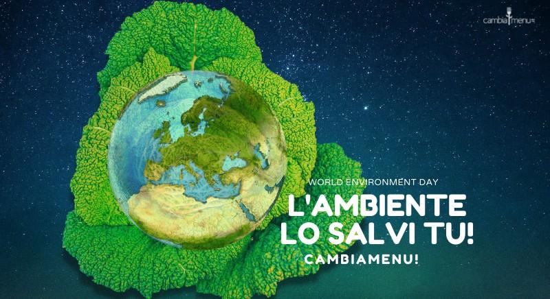 Giornata mondiale dell'Ambiente: la scelta alimentare veg salvera' il Pianeta