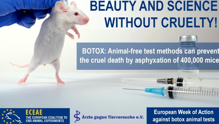 Stop a test sui topi per il botox, inutili e cruenti! Appello LAV/ECEAE