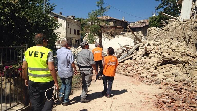5 anni fa il terremoto in Centro Italia: come allora #nonlasciamosolonessuno