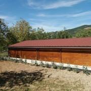 La casa per cani anziani e disabili di Colle Altino (Macerata)