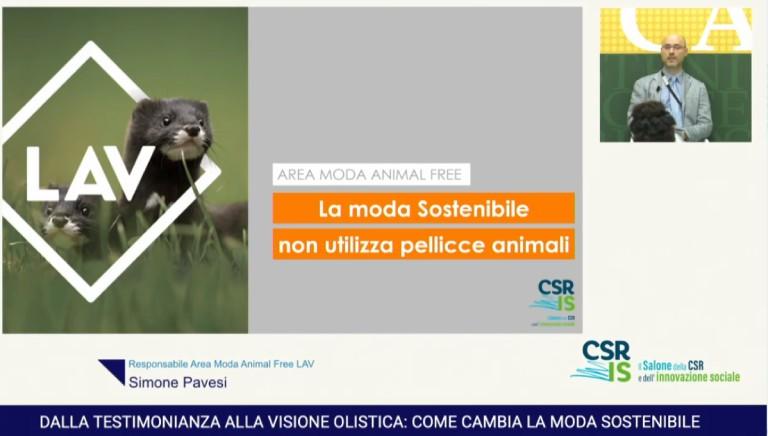 LAV al Salone della Responsabilita' Sociale d'Impresa sbugiarda industria pellicce