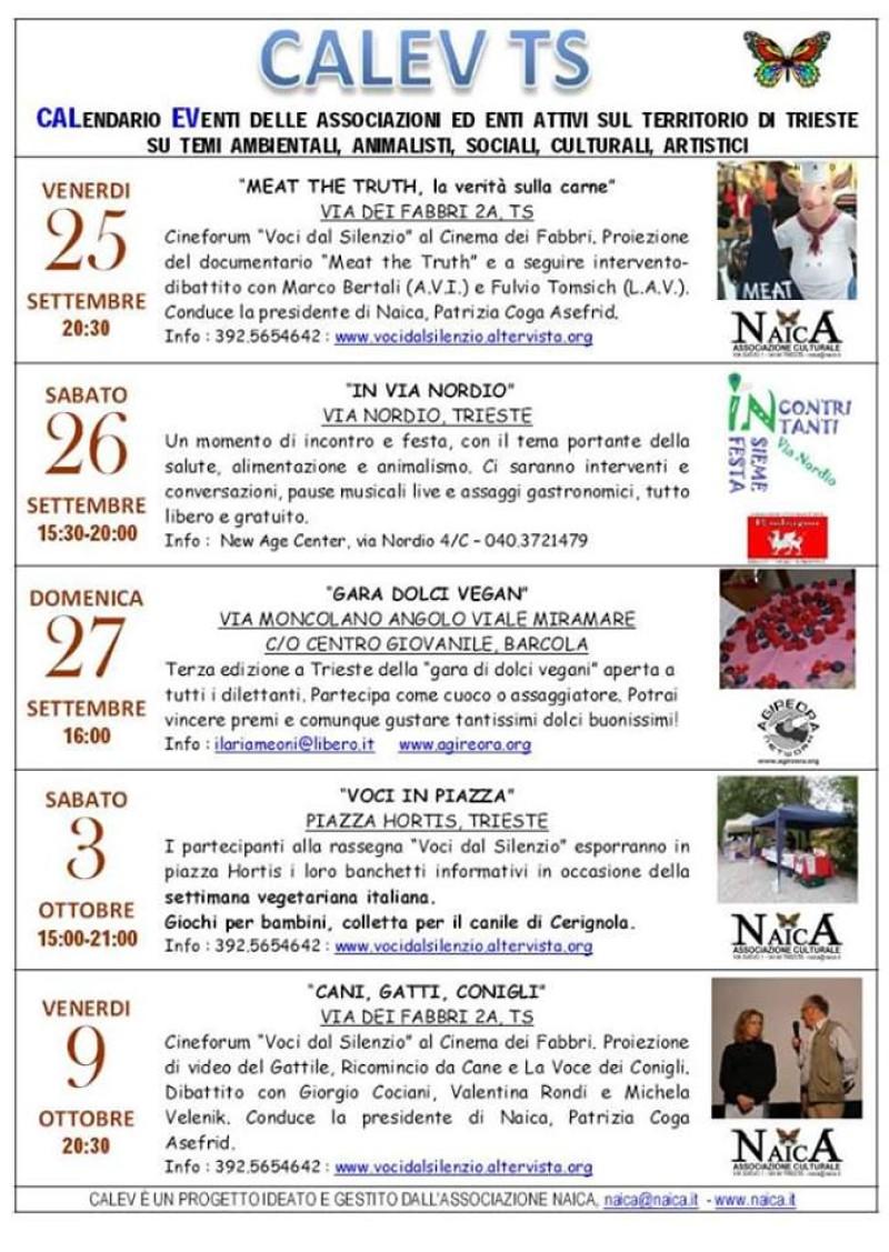 Le news della nostra sede di Trieste - LAV