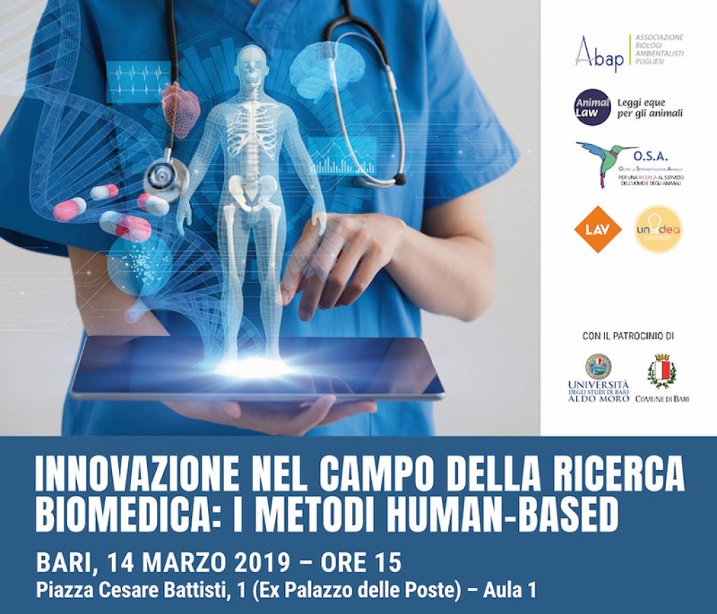 Convegno: Innovazione nella ricerca biomedica: i metodi human-based