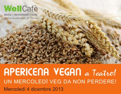Apericena vegan di dicembre al Well-Cafè