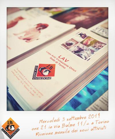 3/09/2014 - Riunione mensile dei soci