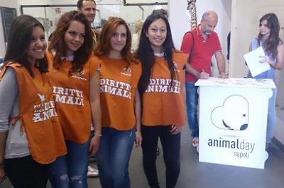 Animal Day al palazzo delle arti di napoli