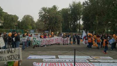 Presidio contro lo Zoo di Napoli - 30 Novembre