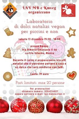 Laboratorio di biscotti vegan