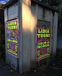 Maxi-multa al Circo Lidia Togni  dopo esposto LAV Roma per affissioni abusive nella Capitale