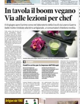 In tavola il boom vegano  Via alle lezioni per chef