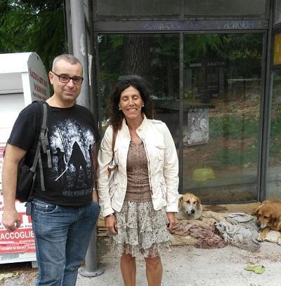 """LAV Reggio Emilia e """"i cani dell'Aquila"""" . I NOSTRI VOLONTARI PORTANO CIBO ALLE ASSOCIAZIONI DEL TERRITORIO"""