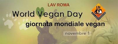 Domenica 1° novembre in piazza per il World Vegan Day!