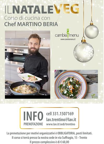 CORSO DI CUCINA con lo Chef MARTINO BERIA