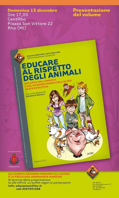 Presentazione libro: educare al rispetto degli animali