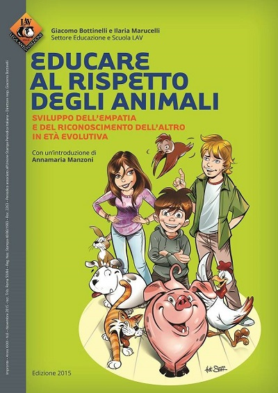 """Presentazione del libro """"Educare al rispetto degli animali"""" il 26 febbraio alle 18"""