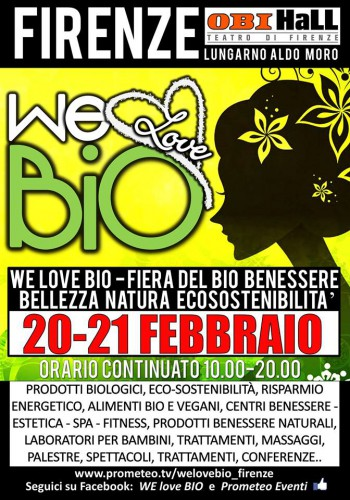 Anche LAV Firenze a  We love bio""