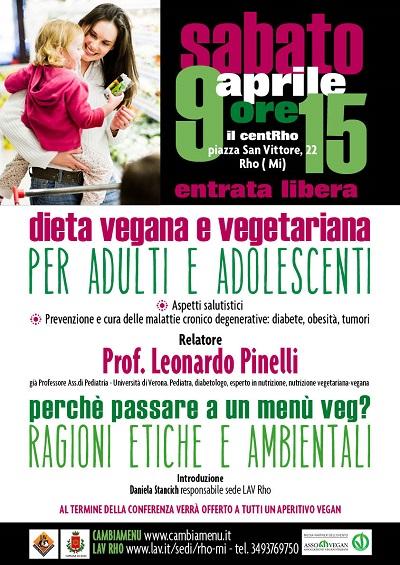 Conferenza dieta vegana e vegetariana