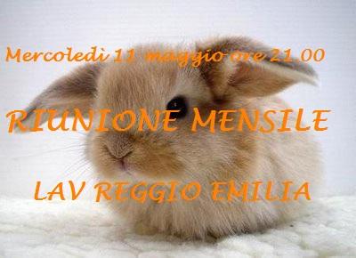 RIUNIONE MENSILE MAGGIO