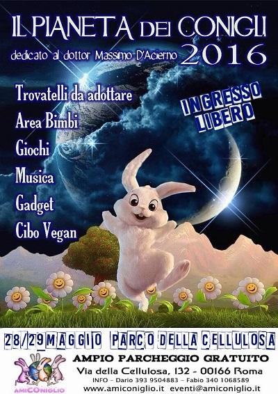 """LAV Roma alla festa """"Il pianeta dei conigli"""" il 29 maggio al Parco della Cellulosa"""