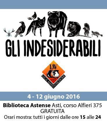 """Arriva ad Asti la mostra """"Gli Indesiderabili"""""""