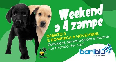 Week end a quattro zampe