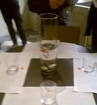 PONTEDERA: Pesci rossi vivi sui tavoli del ristorante PALP di Palazzo Pretorio