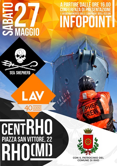 Evento Sea Shepherd e Lav