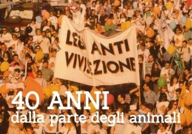 Si festeggiano a Roma 40 anni della LAV  dalla parte degli animali