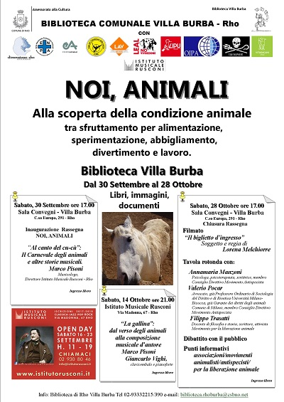 Noi animali Rho