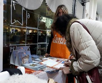 LAV Roma ha celebrato la Giornata Mondiale dei Diritti degli Animali sabato 9 dicembre in 2 locali