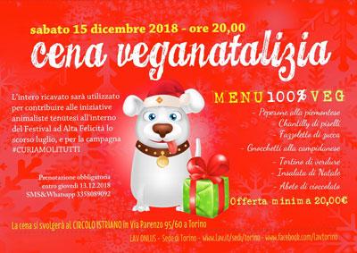 15.12.2018 - Cena Veganatalizia