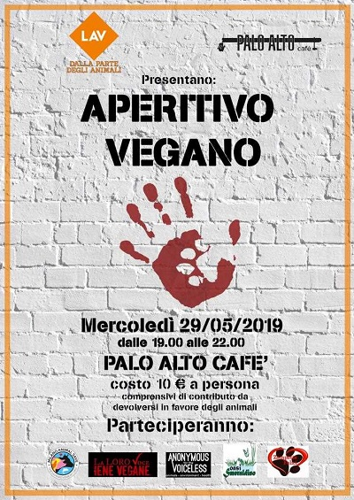 Aperitivo vegan.  Ti aspettiamo a Milano in  C.so di Porta Romana 106