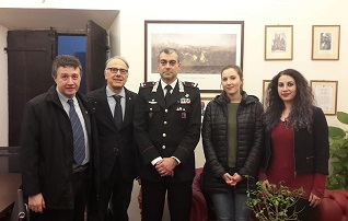 Maltrattamenti di animali. LAV Roma incontra il Comandante Provinciale dell'Arma dei Carabinieri.