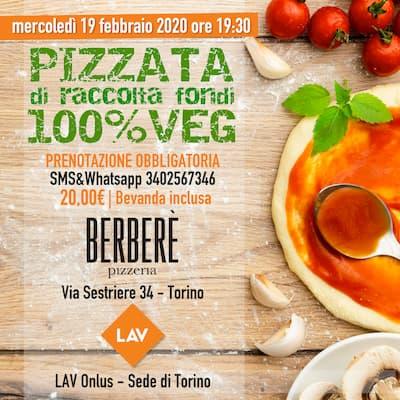 19.02.2020  PIZZATA DI RACCOLTA FONDI